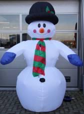 Inflatable, sneeuwpop